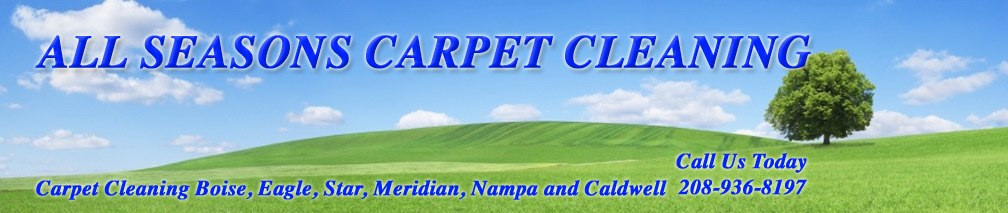 All Seasons Carpet Cleaning. Serviceing Boise, Eagle, Star, Meriidan, Nampa and Caldwell