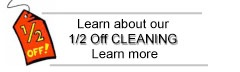 Lean About Half Off Carpet Cleaning